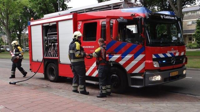 Brandweer Bellen Geen Spoed.Drukte Voor De Brandweer De Castricummer