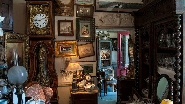 Antiek winkel, antiek nieuwe modern