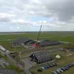 Luchtfoto ' Blik op de Strandwal '