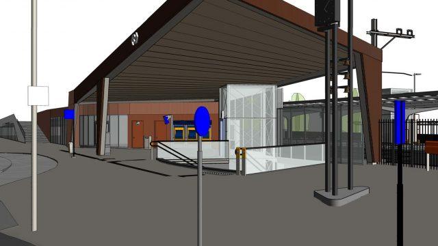 Metamorfose voor station Castricum