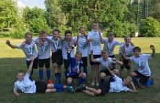 Groep 8 Kerkuil schoolvoetbal