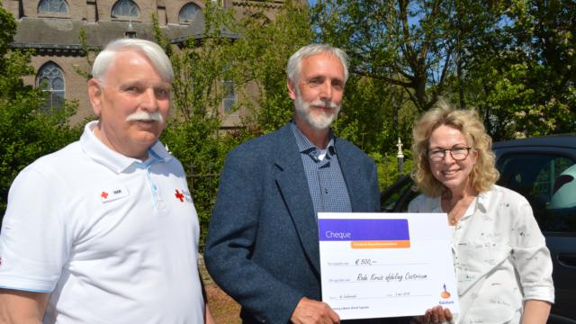 Rabocheque voor Rode Kruis, afdeling Castricum