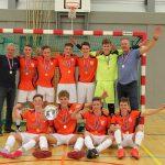 Zaalvoetballers vv Limmen naar NK