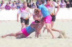 Mannen CASRC Nederlands Kampioen Beachrugby
